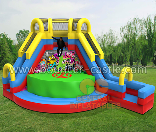 GS-214 Graffiti JUMP Slide