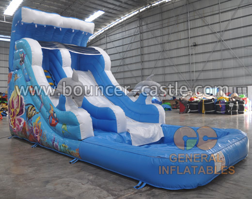 GWS-211 inflatable wave slide